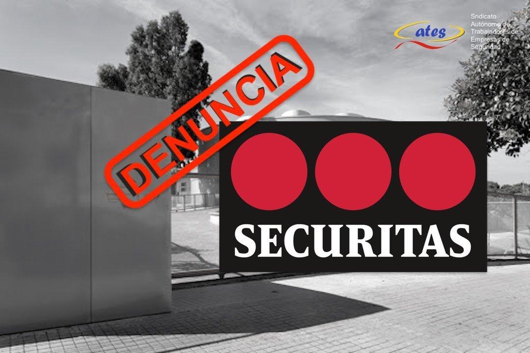 Denuncia a Securitas por tener a un VS realizando el servicio en la vía publica, solo y sin protección