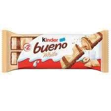 Chocolate Kinder Bueno White 43g até ti