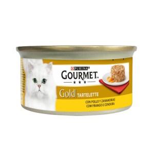 Comida Húmida Gato Gold Tartelette Frango & Cenoura Purina Gourmet