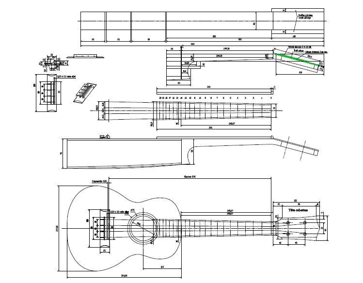 Door from wood: Tenor guitar plans pdf