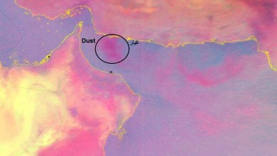 Photo of تدفق الغبار على بحر عُمان.. والأرصاد توضح