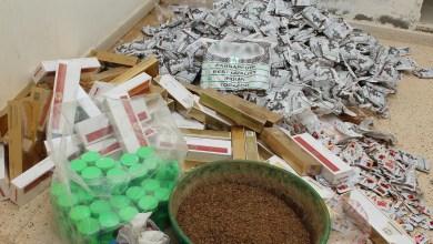 Photo of وافدون يبيعون مواد ممنوعة في شقة