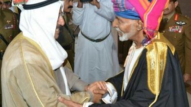 Photo of شاهد الإطلالة البهية لجلالة السلطان في استقبال أمير الكويت