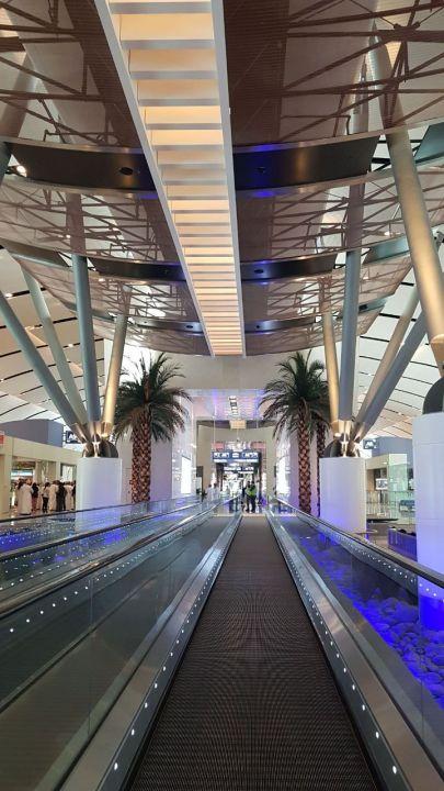 مطارات عمان تتجاوب مع بلاغ تسرب مياه