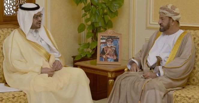 بدر بن سعود يتلقى رسالة من محمد بن سلمان