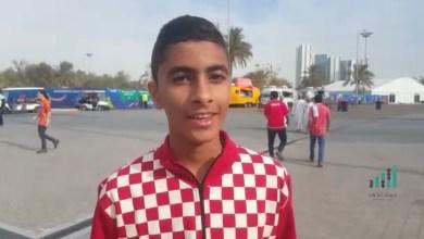 Photo of بالفيديو: زحف جماهيري لملعب مدينة زايد الرياضية