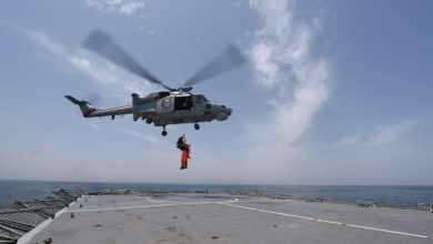 صورة مركز الأمن البحري ينفذ تمرينًا بحريًا