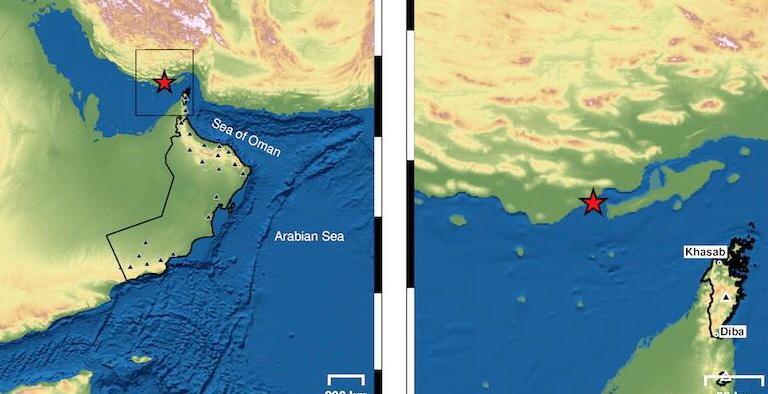 رصد زلزال يبعد عن خصب 120كم - صحيفة أثير الإلكترونية