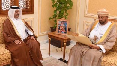 Photo of رسالة خطية من قطر للوزير المسؤول عن شؤون الدفاع