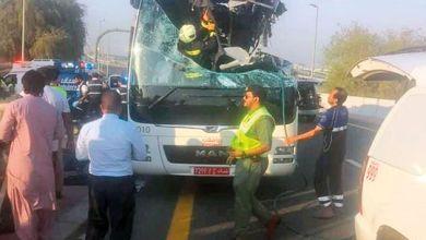 صورة خبير من أستراليا يؤكد: سائق حافلة مواصلات في حادث دبي لا يتحمل أي مسؤولية