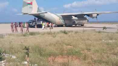 صورة بـ 10 طائرات: جسر إغاثي جوي عُماني لجزيرة سقطرى