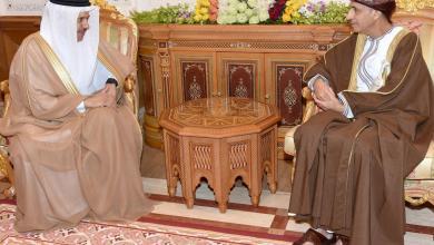 صورة نيابة عن جلالة السلطان: فهد بن محمود يودّع أمين عام مجلس التعاون