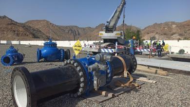 صورة دون نقص في المياه: الانتهاء من صيانة محطة قريات