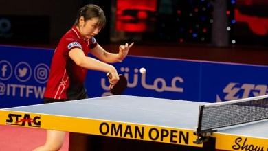 Photo of هندي ويابانية يُتوجان بألقاب فردي بطولة عمان الدولية المفتوحة لكرة الطاولة