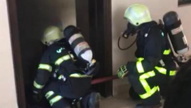 """Photo of """"الدفاع المدني"""" تتعامل مع حريق مدرسة في بهلاء"""