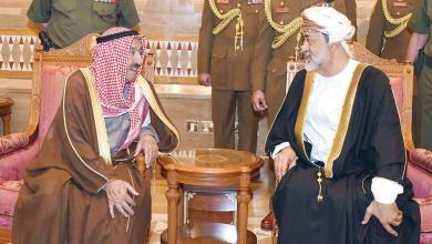 Photo of جلالة السلطان يتلقّى تعزية من أمير الكويت