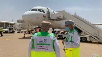 Photo of بالصور: رحلة جوية من مطار مسقط إلى مرمول وقرن علم