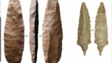 صورة العثور على أدوات حجرية عمرها 8000 عام بالسلطنة واليمن