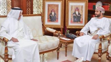 Photo of صاحب السمو السيد ذي يزن بن هيثم يستقبل السفير الإماراتي