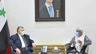 صورة سفيرنا في سوريا يناقش تطوير العلاقات الاقتصادية