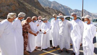 صورة بالصور: وزراء في جولات ميدانية بمسندم