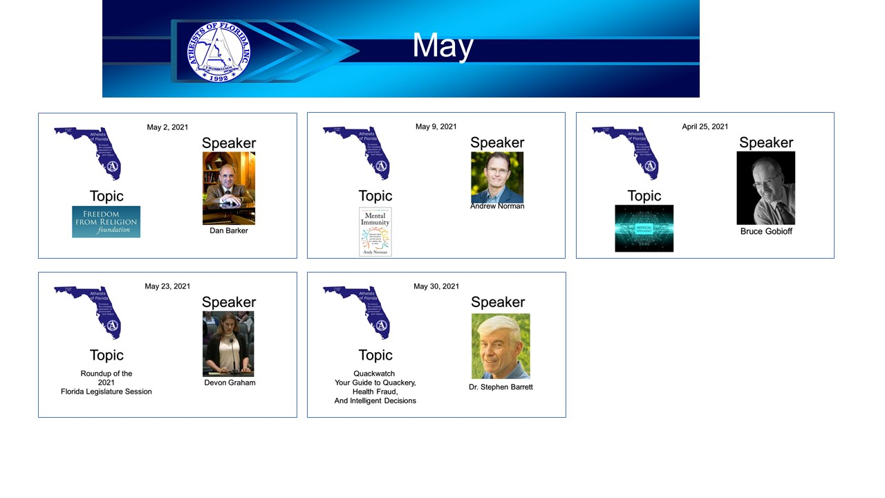 events for May