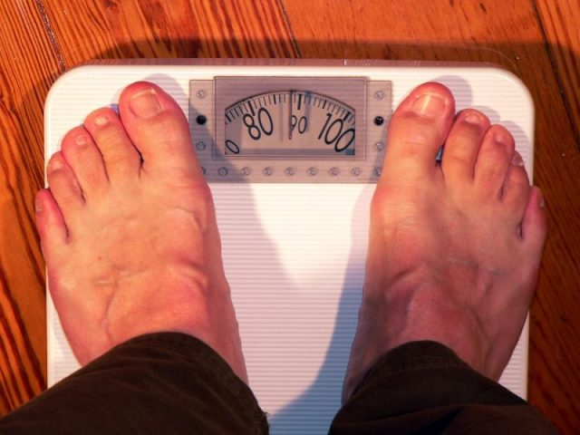 Weight Coloring Bathroom Scale Weigh Horizontal