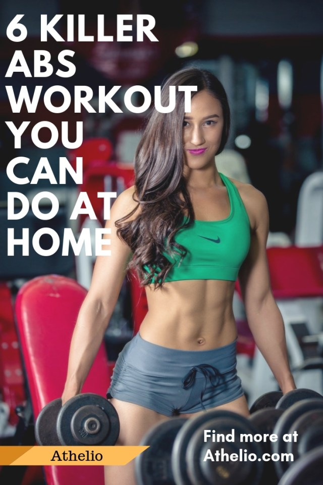 6 Killer Abs Workout You Can Do At Home
