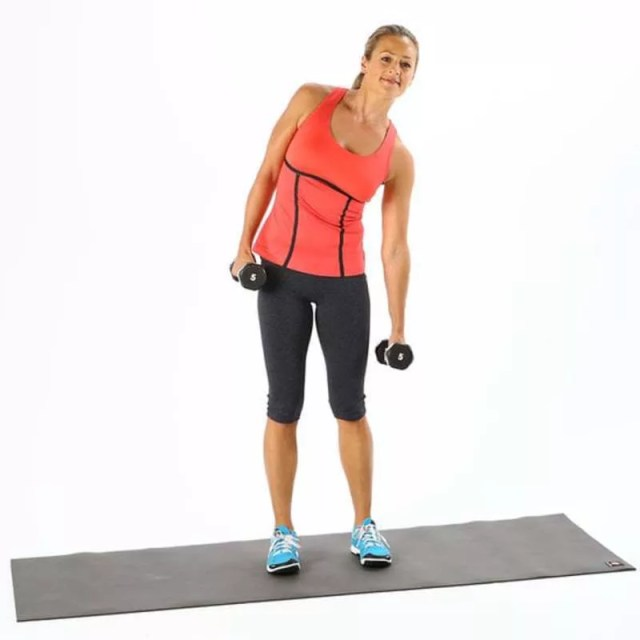 Side Bend Dumbbells Athelio