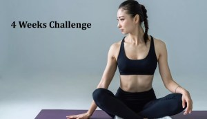 4 Weeks Flat Belly Challenge With These Easy Workouts