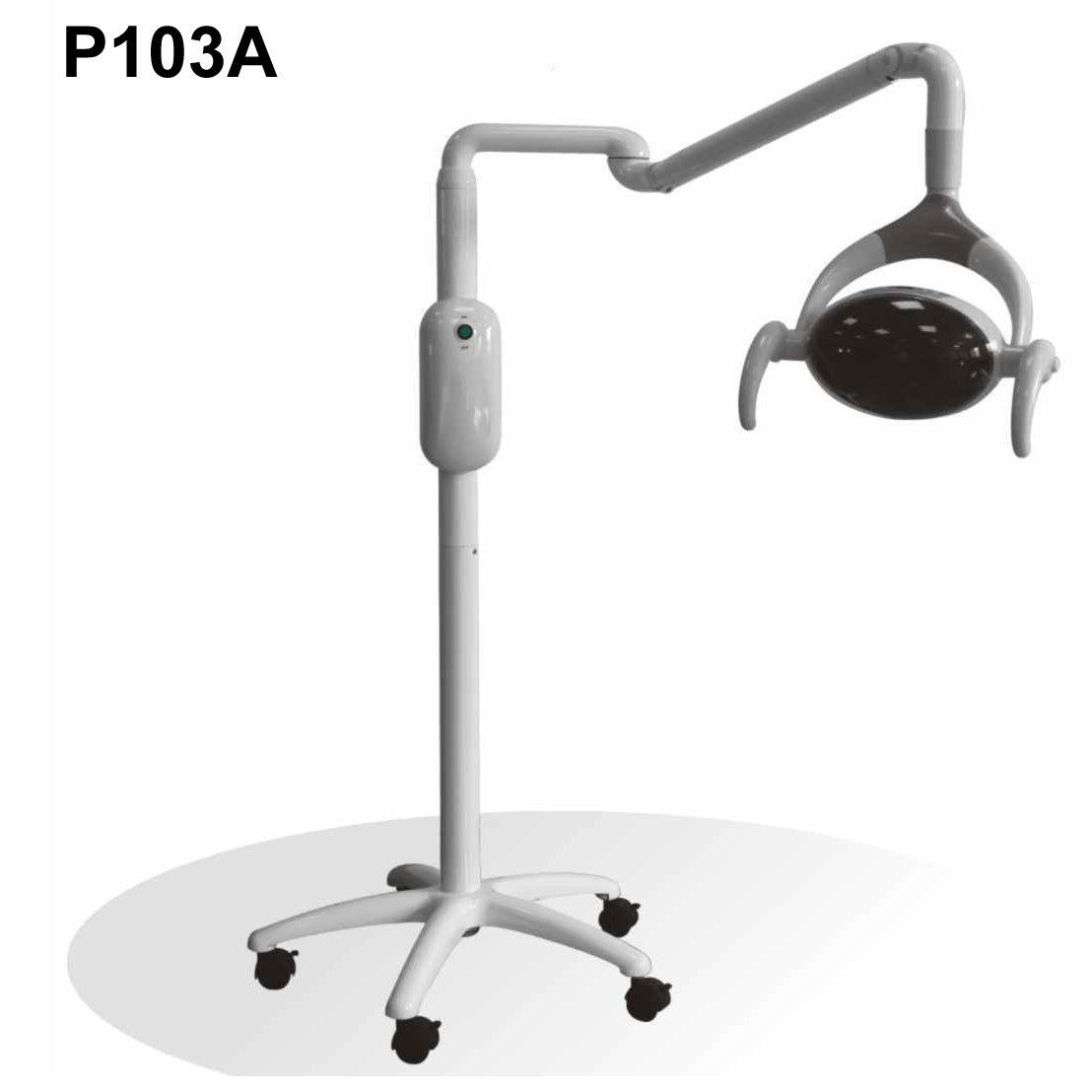 dental chair light stand game with steering wheel 28w oral patient lamp 6 led p103a color