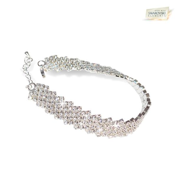 AthenaFashion. Diamanta Bracelet with Swarovski Elements