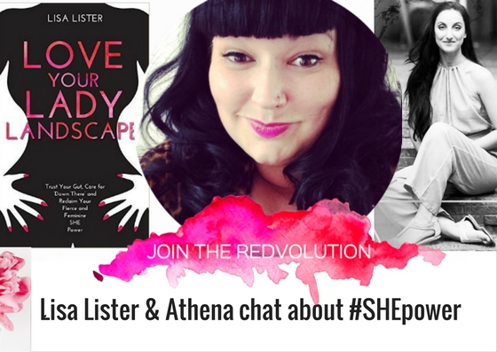 Athena Laz interviews author Lisa Lister on How To Love Your Lady Landscape