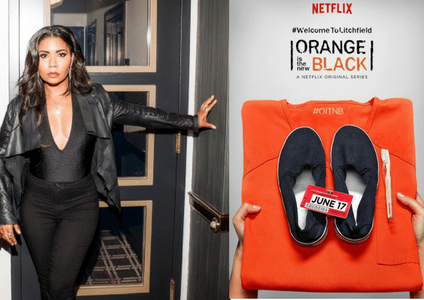 Athena Laz interviews Jessica Pimentel from Orange is the new black