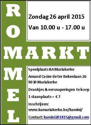 Affiche rommelmarkt