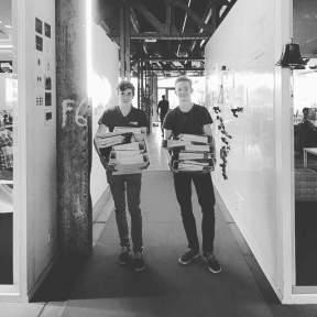 Isaac en Sander