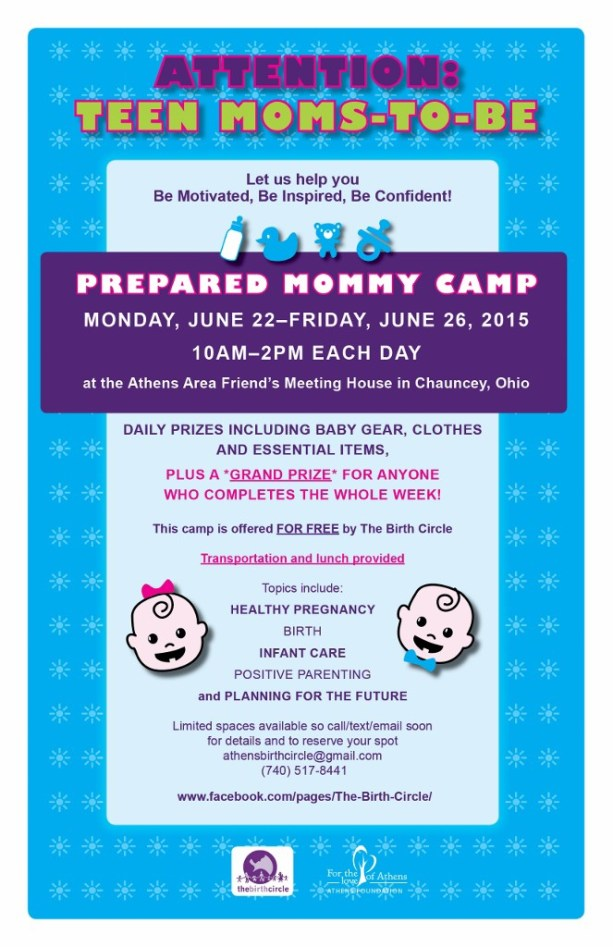 Prepared Mommy Camp Flyer 2015