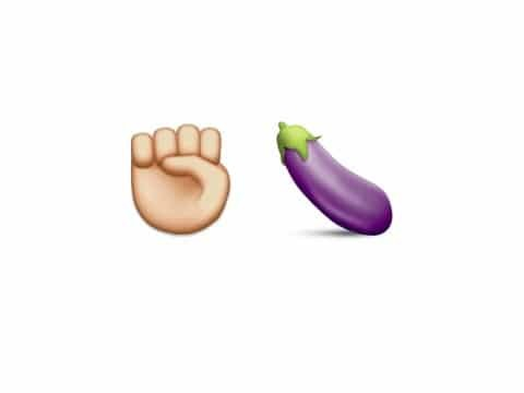 emoji eggplant