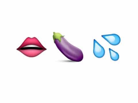 emoji μελιτζάνα