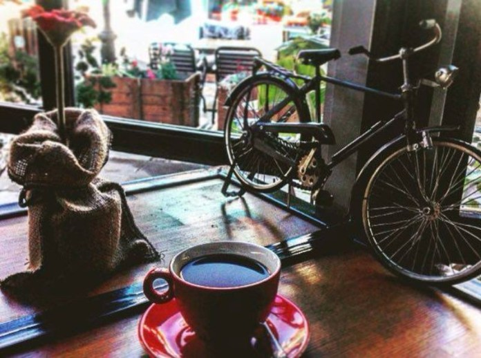 ποδηλατο cafe κορωπι για καφε