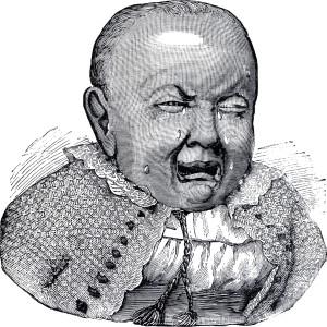 Vintage-Sad-Baby-Image-GraphicsFairy