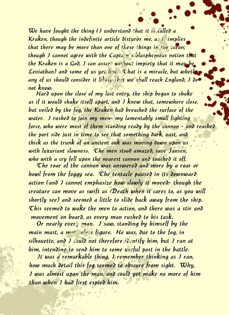 Kraken Battle Page 1