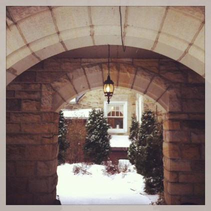 castle archway