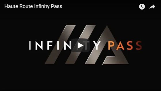 Haute Route infinity pass for 2019 発売開始