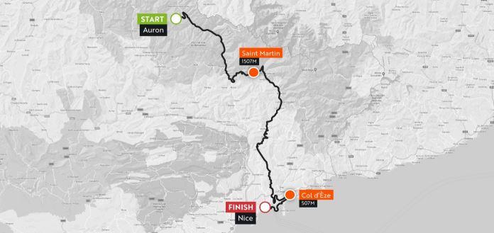 Haute Route Alps 2018 Stgae7 : Auron – Nice