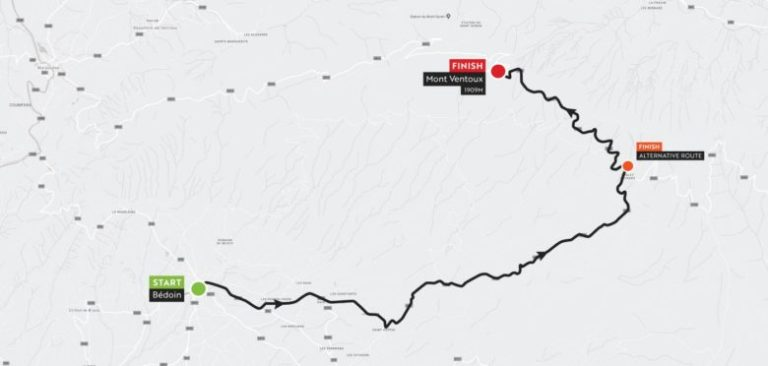 Haute Route Ventoux_stage3_map