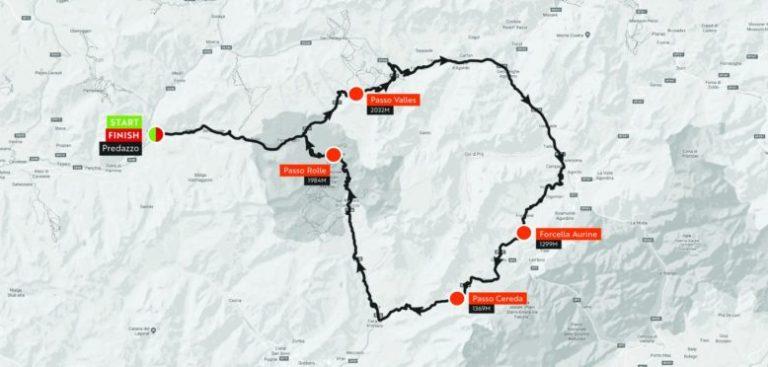 Haute Route Dolomites 2018 Stgae2_map