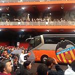 Empfang am Mestalla (Foto: Athletic-Brandao)