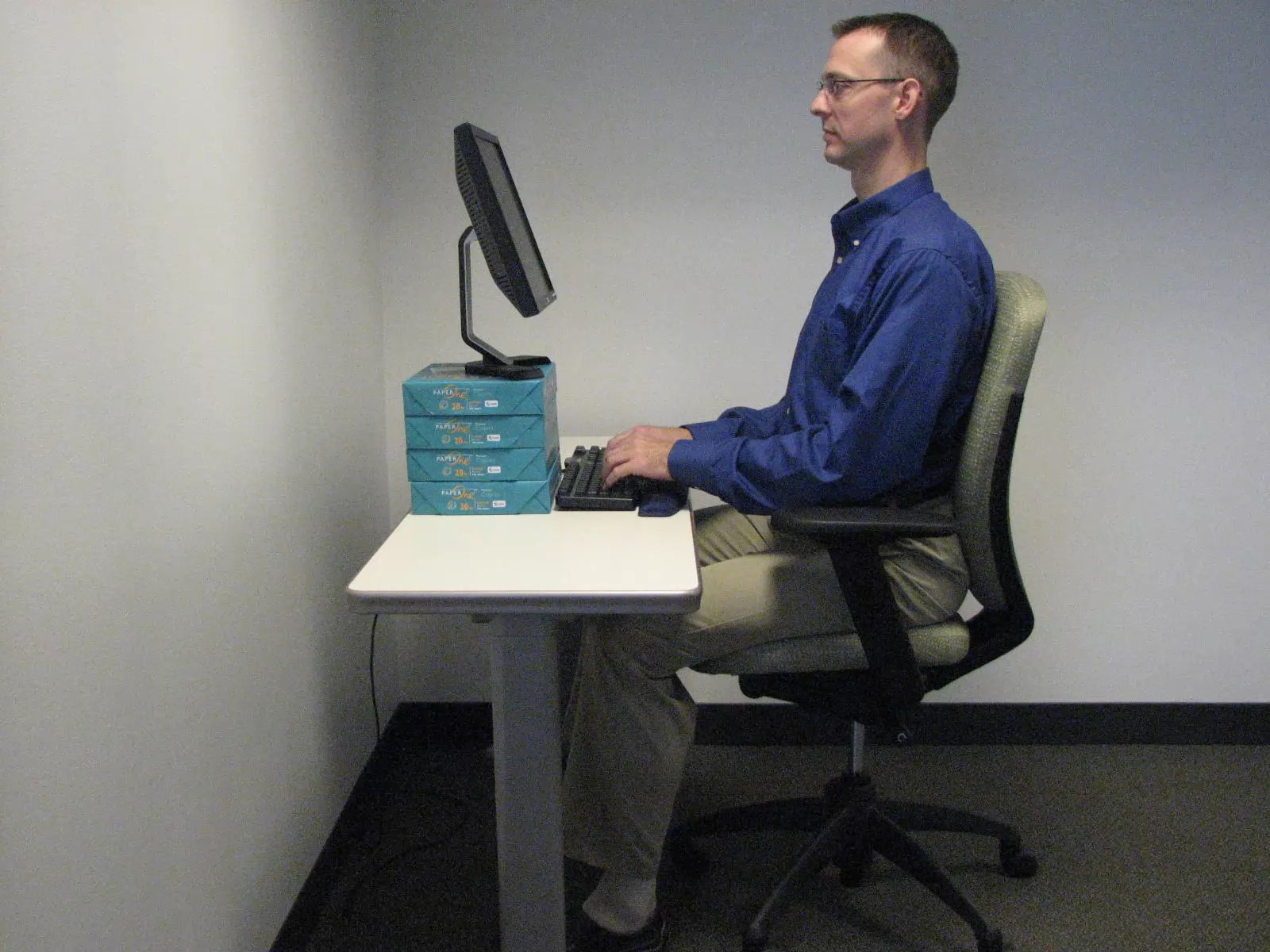 office chair neck pain wooden with steel legs is my computer causing athletico