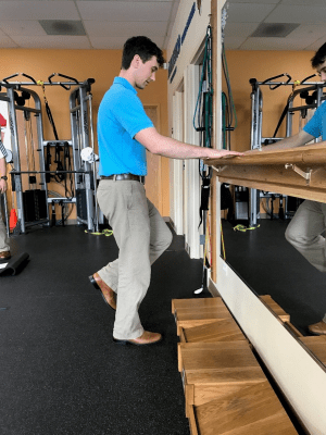 golf off season training single leg stances